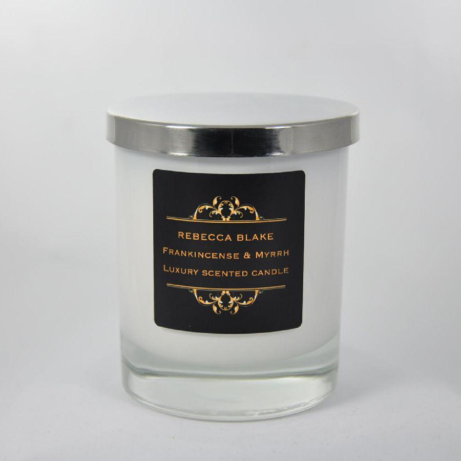 Frankincense & Myrrh Standard Candle – Rebecca Blake Candles