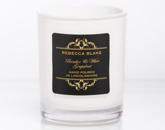 Bamboo & White Grapefruit Travel candle