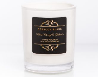 Black Cherry & Gluhwein Travel Candle
