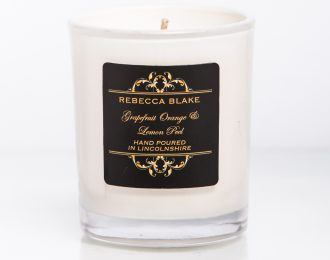 Grapefruit Orange & Lemon Peel Travel Candle