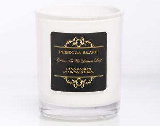 Green Tea & Lemon Leaf Travel candle