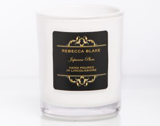 Japanese Plum Travel Candle