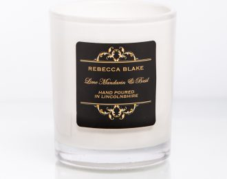 Lime Mandarin & Basil Travel Candle