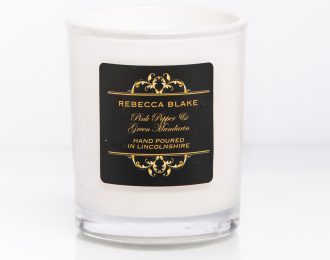 Pink Pepper & Green Mandarin Travel Candle