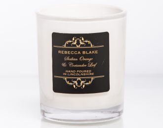 Sicilian Orange Travel Candle