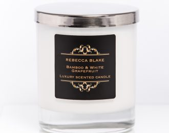 Bamboo & White Grapefruit Std Home Candle