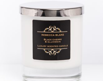 Black Cherry & Gluhwein Std Home candle
