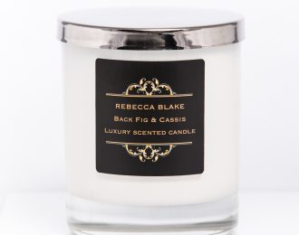 Black Fig & Cassis Std Home Candle