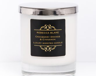 Cranberry Orange & Cinnamon Std Home Candle
