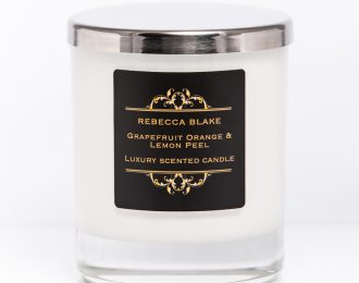 Grapefruit Orange & Lemon Peel Std Home Candle