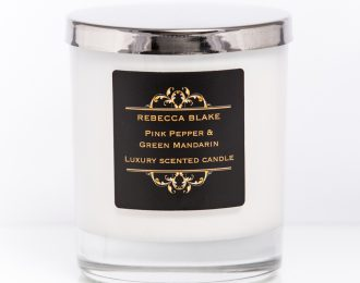 Pink Pepper & Green Mandarin Std Home Candle