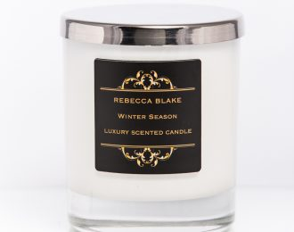 Winter Season Std Home Candle