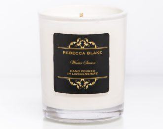 Winter Season Travel Candle