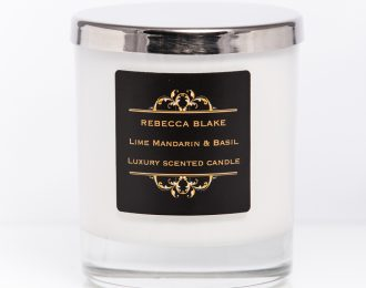 Lime Basil & Mandarin Std Home Candle