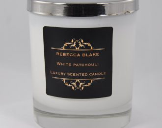 White Patchouli (Calming) Essential Oil Std Candle