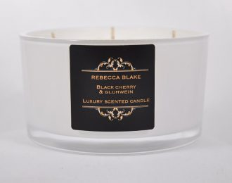 Black Cherry & Gluhwein 4 Wick LuxuryCandle