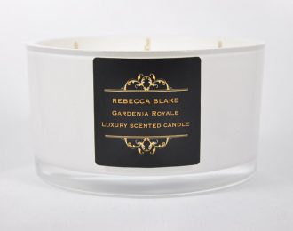 Gardenia Royale 4 Wick Luxury Candle