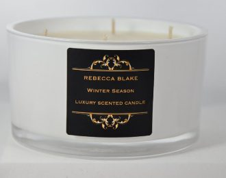 Winter Season 4 Wick Luxury Candle