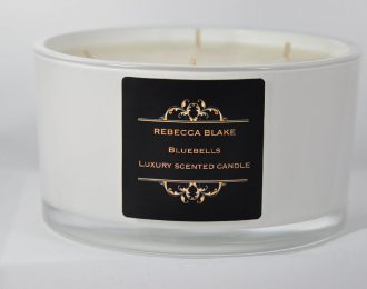 Bluebells 4 Wick Luxury Candle