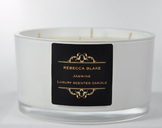 Jasmine 4 Wick Luxury Candle