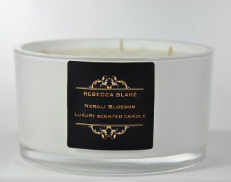 Neroli Blossom 4 Wick Luxury candle