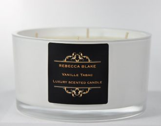 Vanille Tabac 4 Wick Luxury Candle